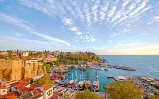 Antalya –  mesto sonca, morja  in zgodovine