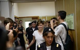 V Moskvi aretirali štiri člane feministične punk skupine Pussy Riot
