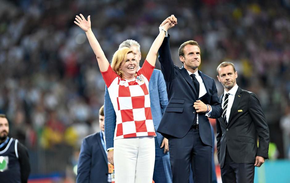 Kolinda Grabar Kitarović - od mesarjeve hčere do hrvaške države (foto: Profimedia)