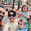 Jani Jugovic na družinskem dopustu
