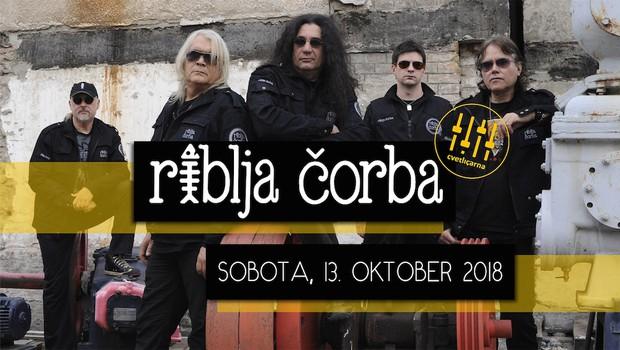 Najbolj kultna rock skupina nekdanje Jugoslavije Riblja Čorba prihaja v Cvetličarno (foto: Riblja čorba Press)