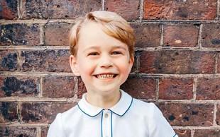 Princ George je praznoval 5. rojstni dan