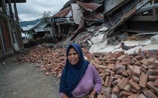 Po enem tednu je priljubljeni indonezijski otok Lombok stresel nov, še močnejši potres