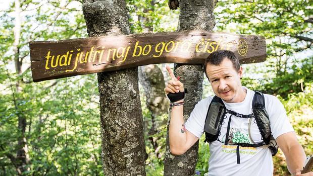 Andrej Težak Tešky: Družili so se komiki in hribolazci (foto: Boštjan Selinšek)