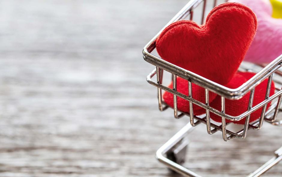 Ne iščite sreče v trgovini - manj smeti, manj skrbi! (foto: Shutterstock)