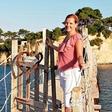 Lara Pirc je očarana nad morjem