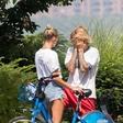 Hailey Baldwin v parku tolažila objokanega Justina Bieberja
