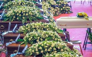 Dan žalovanja in državni pogreb za žrtve zrušenega viadukta v Genovi