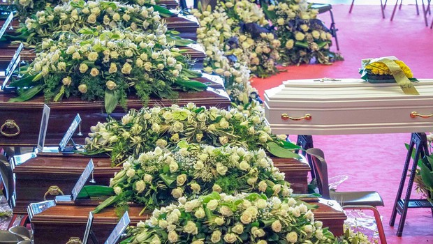 Dan žalovanja in državni pogreb za žrtve zrušenega viadukta v Genovi (foto: profimedia)