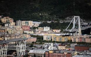 Zrušeni avtocestni viadukt v Genovi je uradno terjal 43 življenj