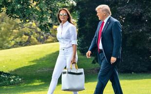 Starši Melanie Trump postali Američani