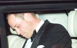 Princ William ima na čelu že dolgo časa veliko brazgotino