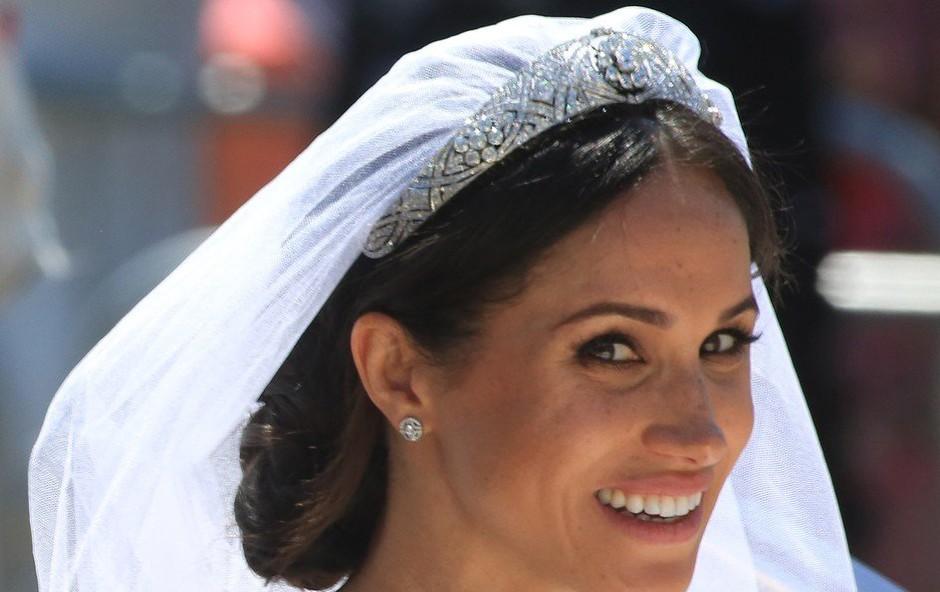 Poročna obleka vojvodinje sussekške bo postavljena na ogled (foto: profimedia)