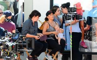 Eva Longoria se je dva meseca po porodu že vrnila na snemanje filma