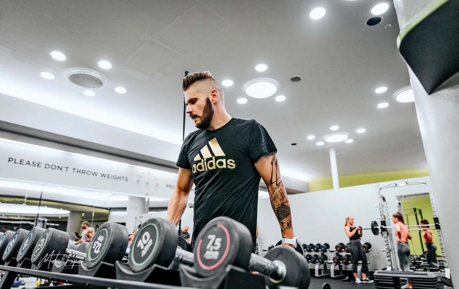 Nik Kavčič je prepolovil prvotno težo (foto: Matic Lipar)