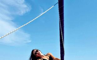 Iryna Osypenko in Matjaž Nemec sta zadovoljna s poletjem