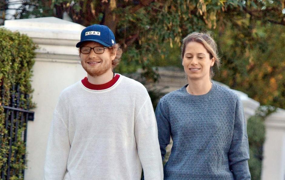 Ed Sheeran na skrivaj skočil v zakonski stan (foto: Profimedia)