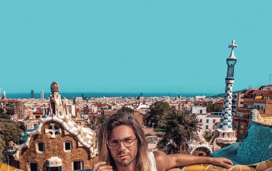 Tibor Golob: Gaudijeva arhitektura je čudovita (foto: osebni arhiv )