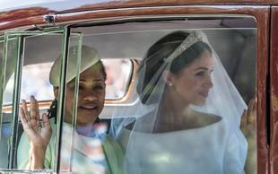 Mama Meghan Markle obiskala hčerko v Veliki Britaniji, a je kraljeva družina njen obisk skrivala pred mediji