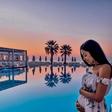Sanja Grohar žari v šestem mesecu nosečnosti