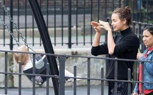 Irina Shayk je tudi brez ličil prava lepotica, ki na ulici obrača številne glave