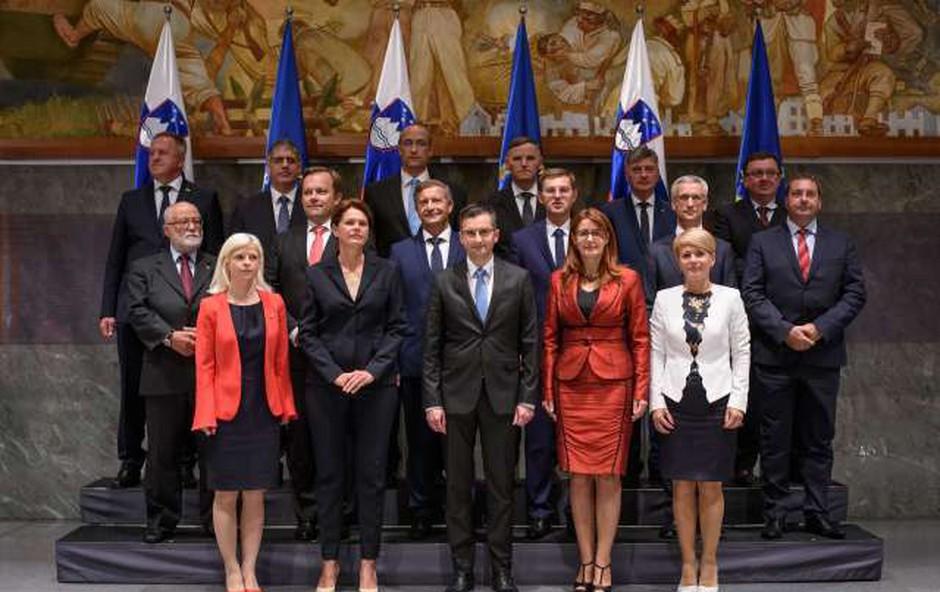 Po imenovanju ministrov primopredaje po resorjih (foto: STA)