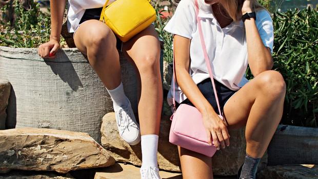 Katarina in Dominika Bučar z blagovno znamko BOO: Praktični in lepi nahrbtniki (foto: osebni arhiv )