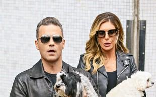 Robbie Williams je tretjič postal očka!