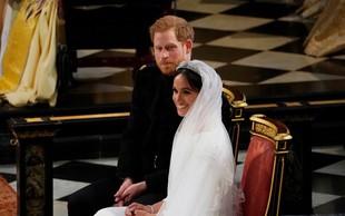 Poglejte si, kaj je rekla Meghan Markle, ko je prvič videla svojo poročno obleko