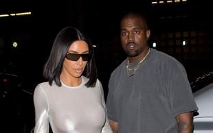 Kim Kardashian in Kanye West na bojni nogi, Kanye želi zapustiti Los Angeles, Kim pa ne želi stran od svoje družine