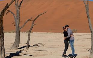 Jure Košir pred hladno jesen pobegnil v vročo Afriko