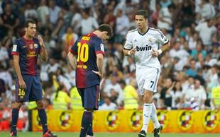 Messi prvič glasoval za Ronalda, Ronaldo pa ni glasoval za Messija