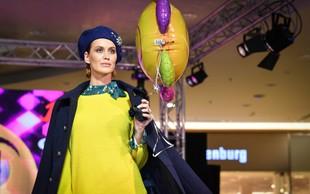 Nepozabna paleta barv na Europarkovi modni reviji