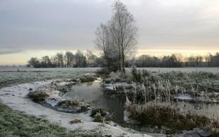 Nizke jutranje temperature v Sloveniji: Tako hladno ni bilo že 40 let!