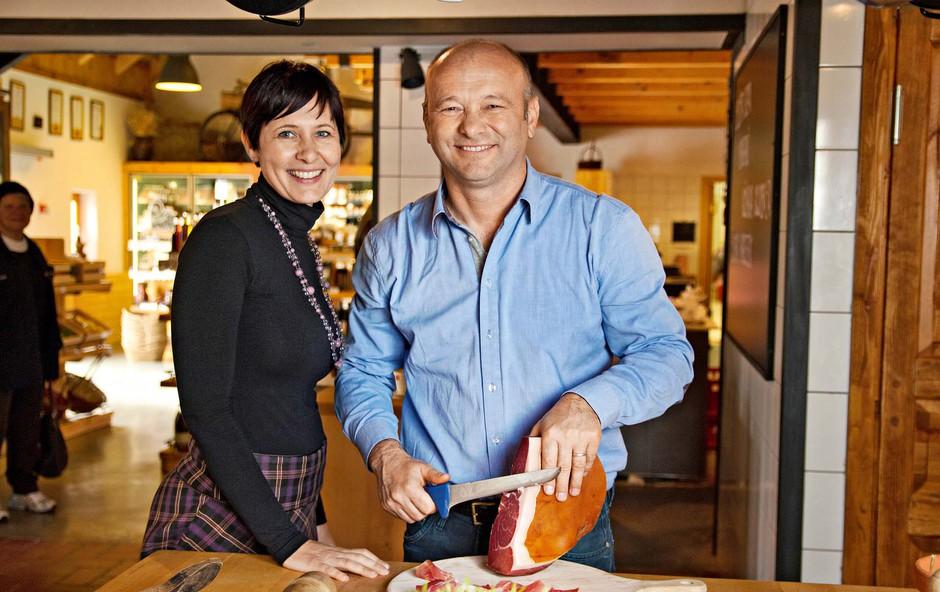 Janko in Helena Kodila: Ocvirke postavili na kulinarični zemljevid (foto: osebni arhiv)