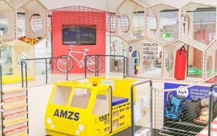 Znani v podporo novemu igralu za učenje varnosti v prometu ob razširitvi največjega otroškega centra Minicity
