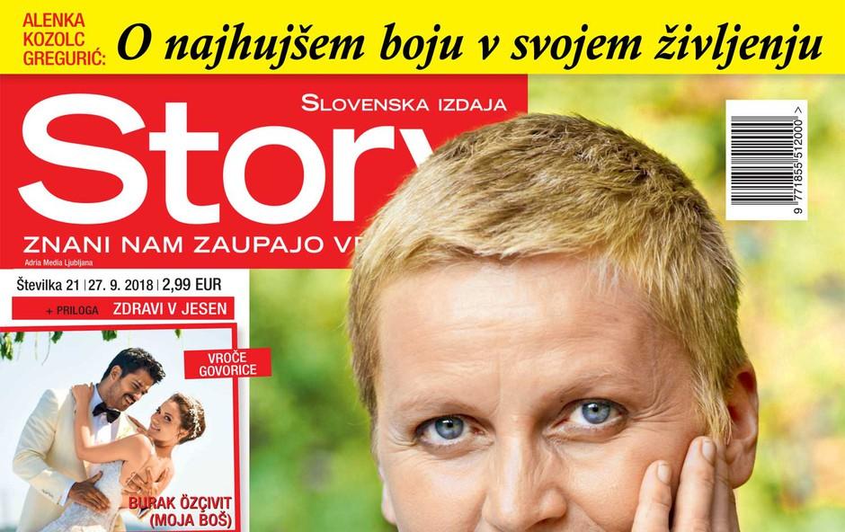 """Alenka Kozolc Gregurić: """"Rak se ne zgodi le tebi, temveč vsem okoli tebe."""""""