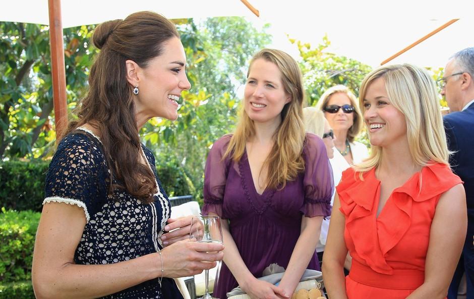 Igralka Reese Witherspoon razkrila, kakšna je v resnici Kate Middleton (foto: Profimedia)