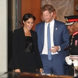Meghan Markle in princ Harry sta se do jutra zabavala v Amsterdamu