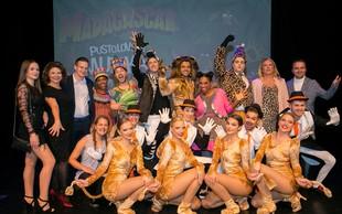 Zabavna premiera muzikala Madagascar v Špas teatru