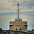 Naprodaj 34 metrov dolga in osem metrov široka Titova jahta Jadranka