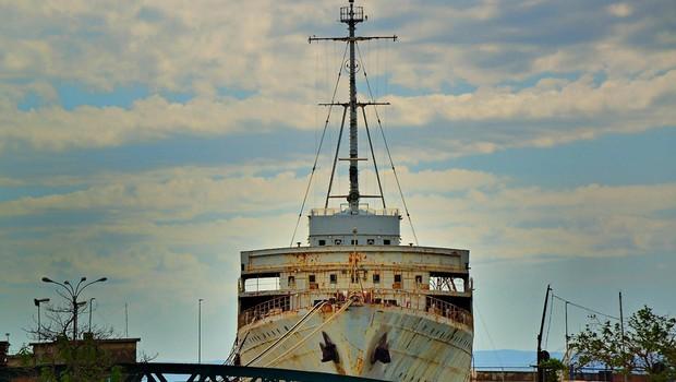 Naprodaj 34 metrov dolga in osem metrov široka Titova jahta Jadranka (foto: profimedia)