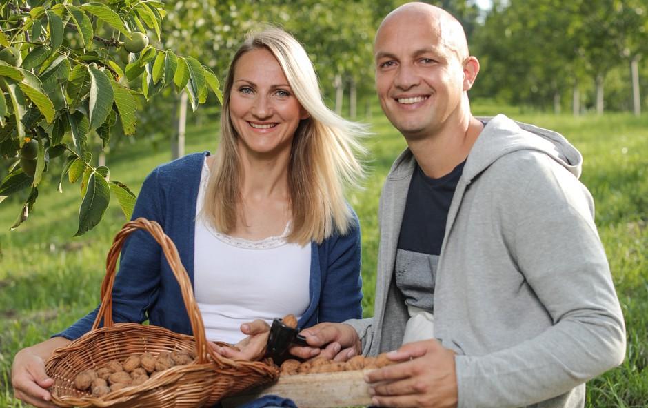 Mark Kališnik in Tina Berlec za svoje, potem pa še za vse ostale slovenske mul'ce! (foto: Štartaj Slovenija Press)