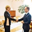 Ksenija Benedetti predala državni Protokol RS