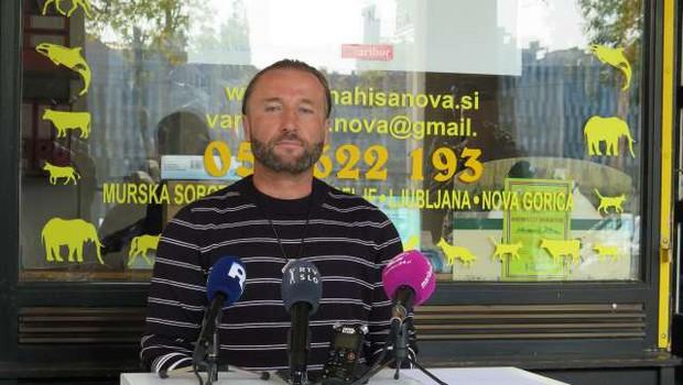 Za župana Maribora tudi aktivist Kamenik in (neuradno) podjetnik Arsenovič (foto: Andrej Seršen Dobaj/STA)