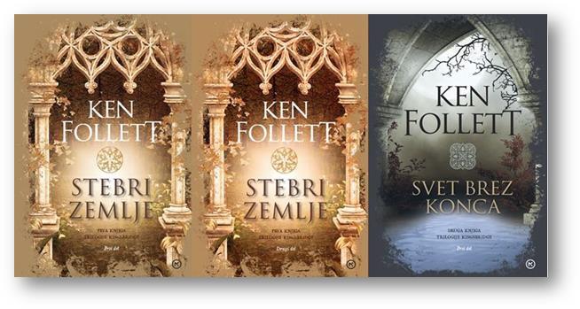 Izšla je tretja obsežna knjiga Kena Folleta iz serije Kingsbridge (foto: emka.si)