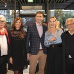 Lado Leskovar, Urša Murn, Goran Kristan, Tanja Ribič Đurić in Oto Pestner. (foto: Maxi Press)