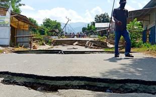 Močan potres stresel Indonezijo in Papuo Novo Gvinejo