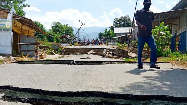 Močan potres stresel Indonezijo in Papuo Novo Gvinejo (foto: Profimedia)