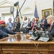 Zaradi Kanyja Westa zardeva celo ameriški predsednik Donald Trump